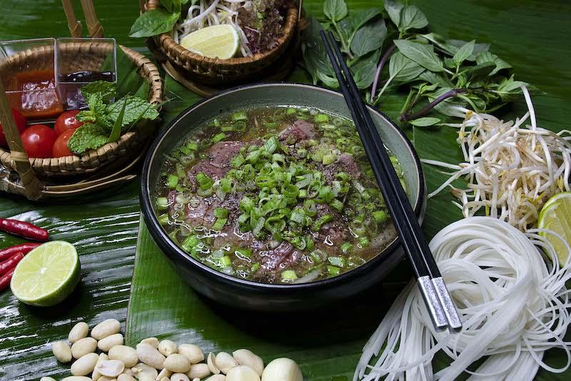 lao beef pho
