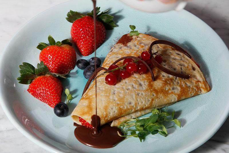 cafe society pancakes