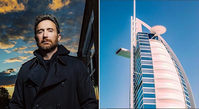 David Guetta Performs Dubai