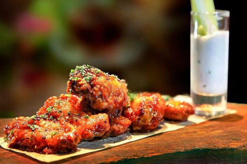 rose & crown chicken wing deals Dubai