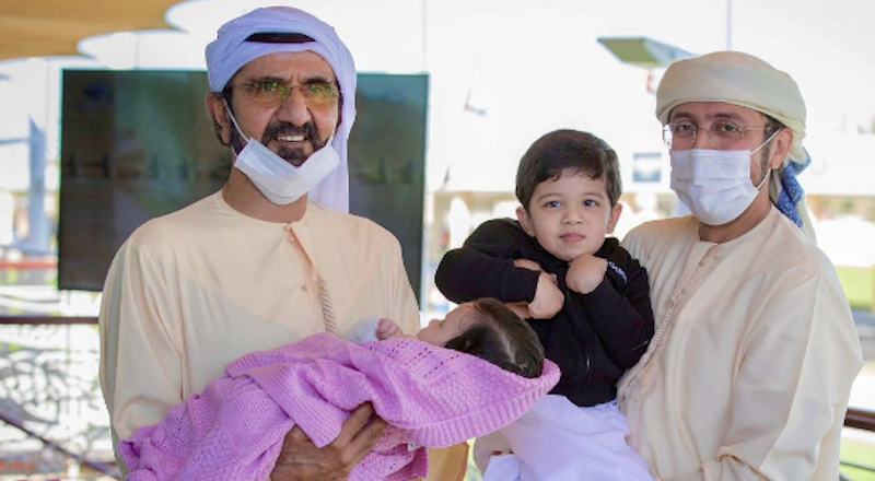 sheikh mohammed family photos