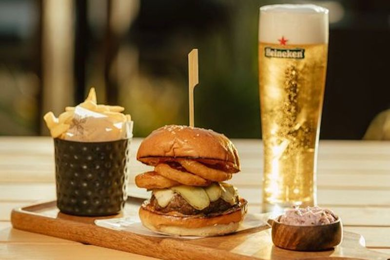 soho burger and beer deal
