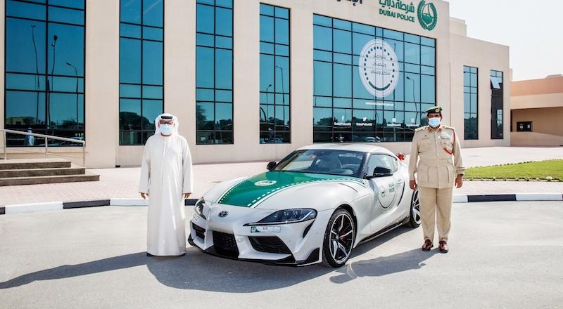 Toyota-GR-Supra_Dubai-Police new