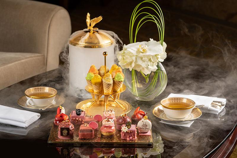 emirates palace afternoon tea