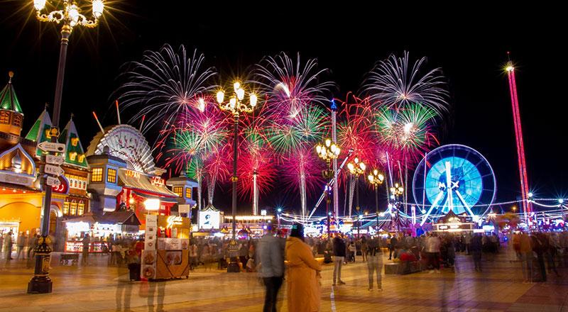global village fireworks