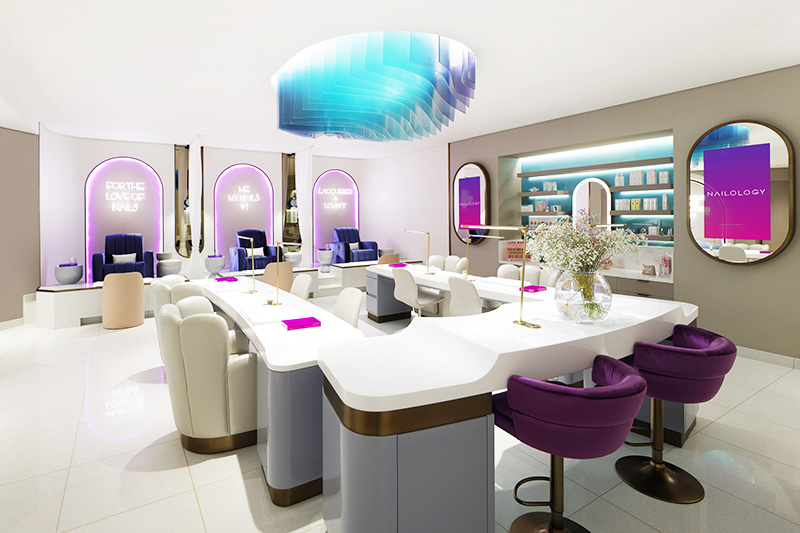Nailology Dubai's first licensed nail salon Atlantis The Palm