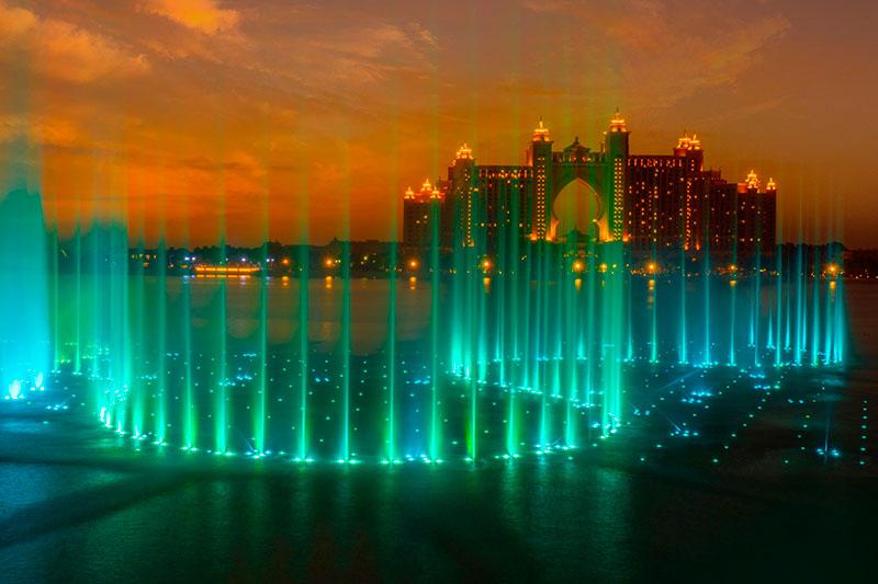 palm fountains
