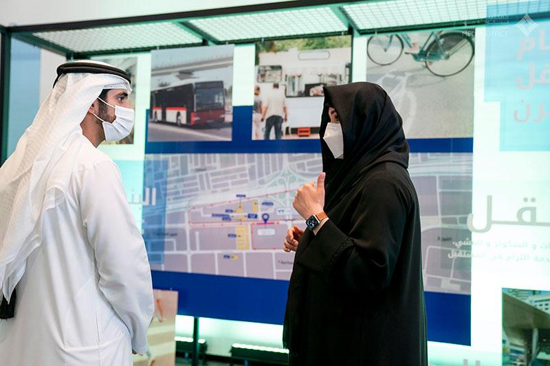 Sheikh Hamdan and Sheikh Latifa