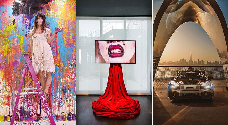 art exhibitions in dubai in april