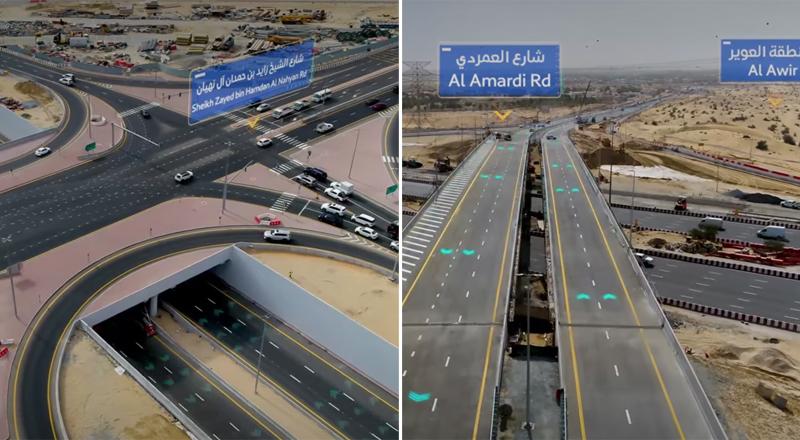 roads sharjah dubai traffic