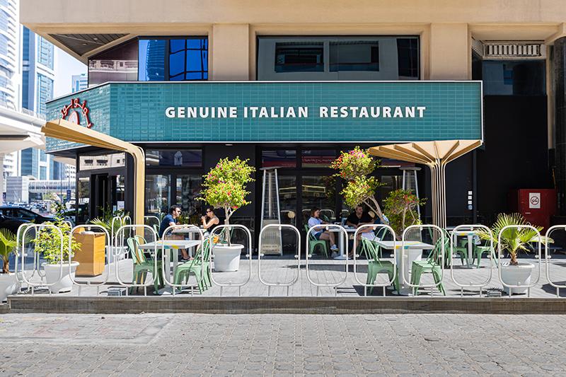 Buono Buono Italian restaurant dubai