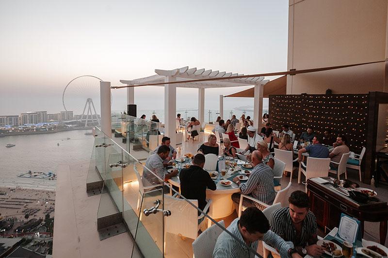 Hilton pure sky lounge