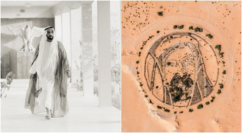 Sheikh Zayed desert potrait