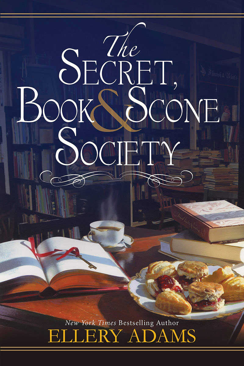 The Secret, Book,and Scone-Society by Ellery Adams