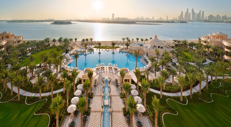 new hotel raffles palm Dubai