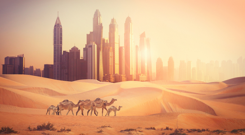 what is the hottest temp ever in dubai the world uae