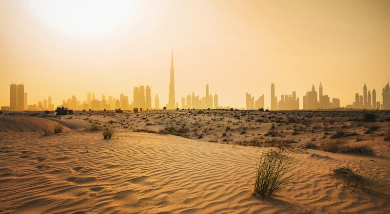 UAE weather hot