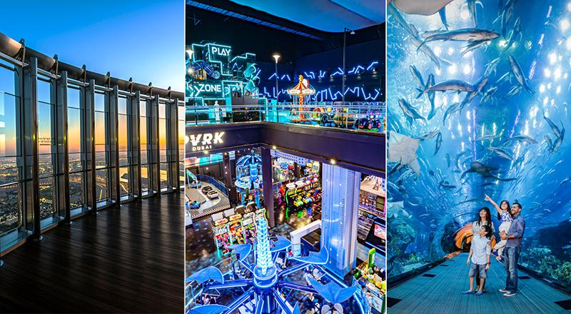 Dubai Mall Emaar Attractions