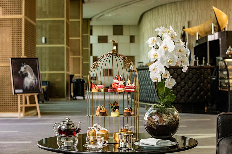 Millennium Lounge afternoon tea