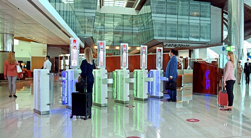 DXB airport smart gates