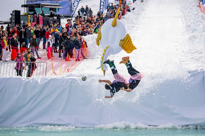 Red Bull Jump & Freeze