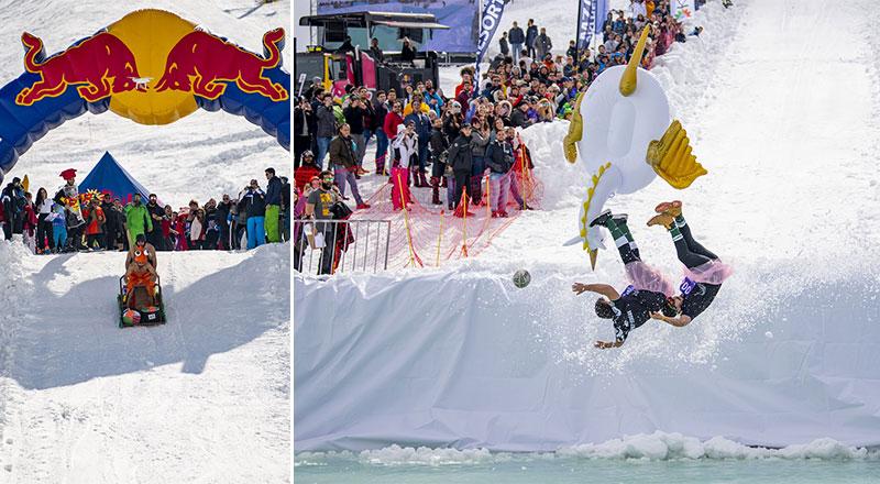 Red Bull Jump & Freeze,