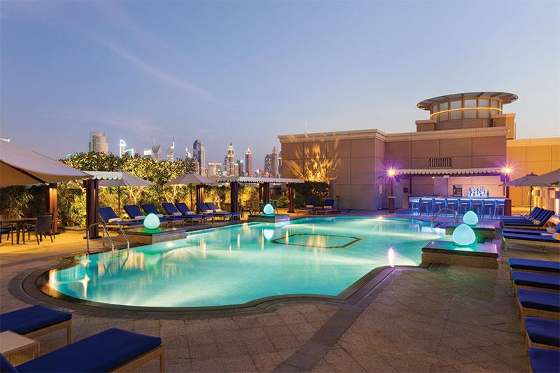 Crowne Plaza Dubai Jumeirah.