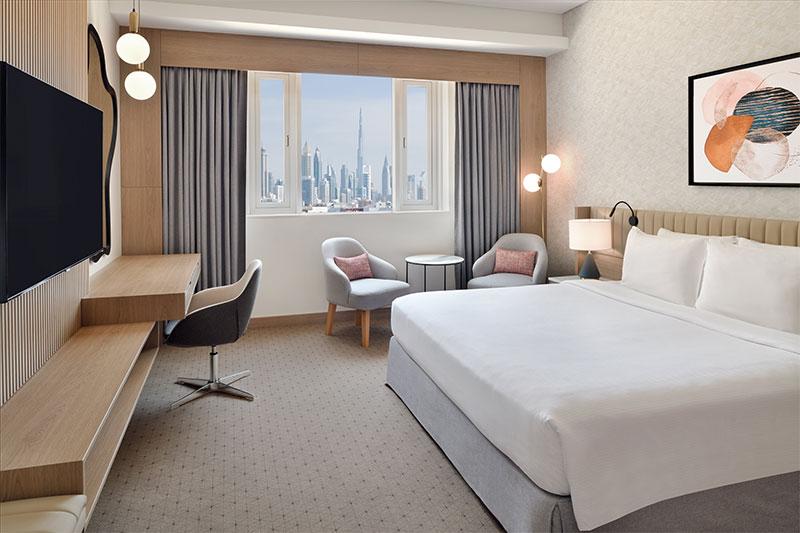 Crowne Plaza Dubai Jumeirah room