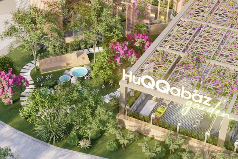 Huqqabaz Garden Dubai