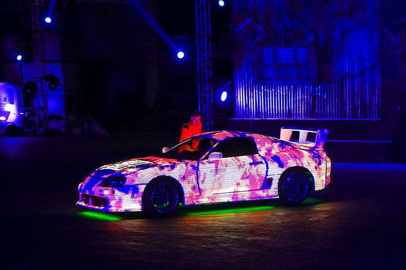LED Cars Global Village