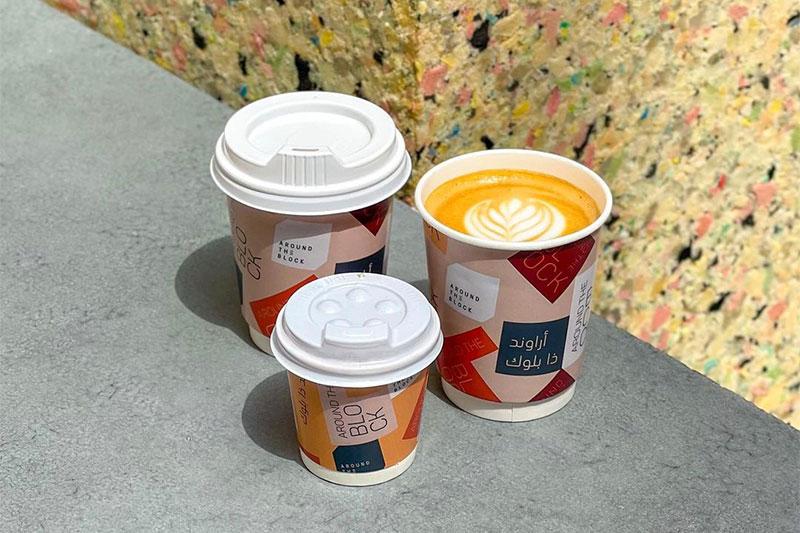 Around the Block coffee cafe dubai