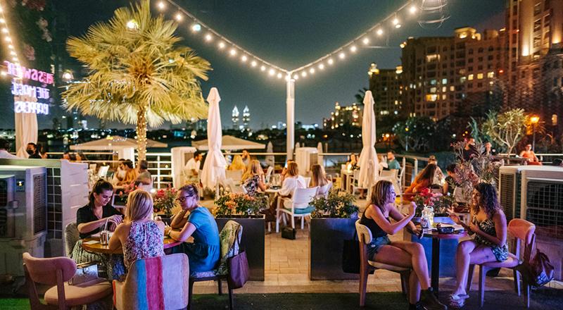 Evening brunches in Dubai