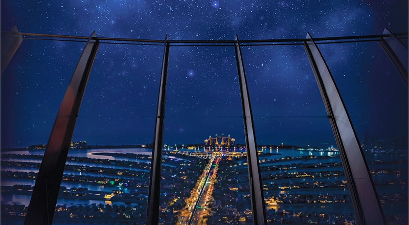 The View The Palm stargazing