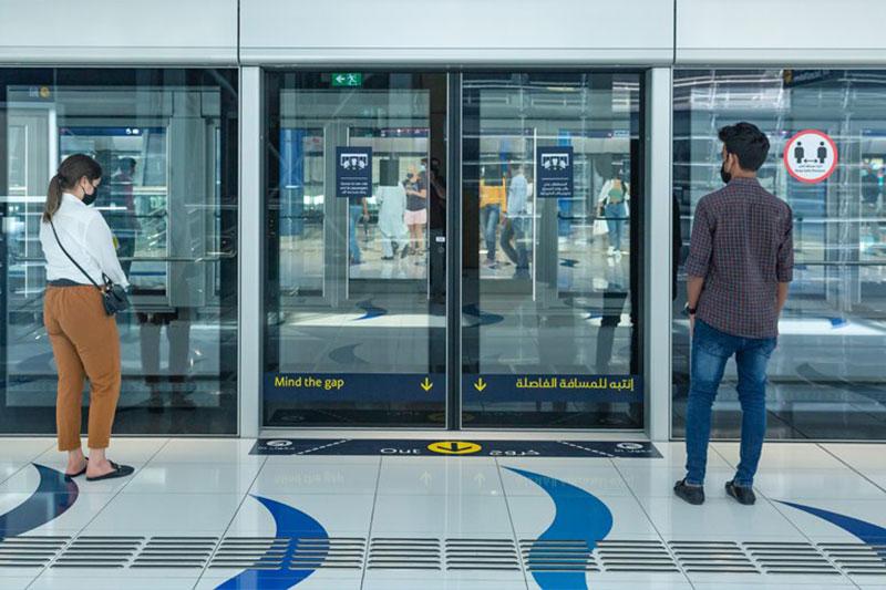 Dubai Metro public transportation rules