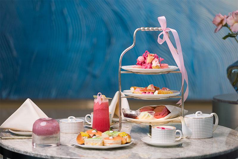 address pink afternoon tea