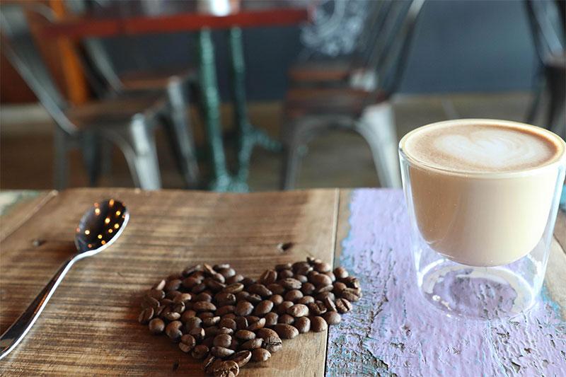 coffee at revo