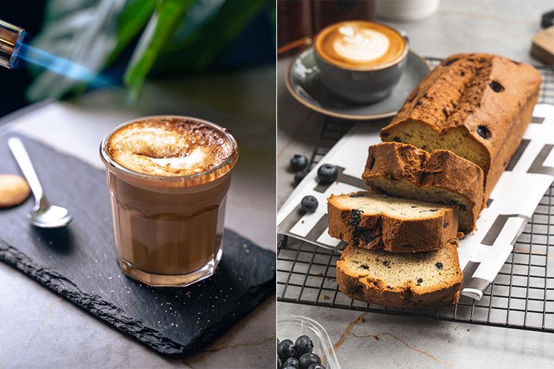 eeten pastries and coffee