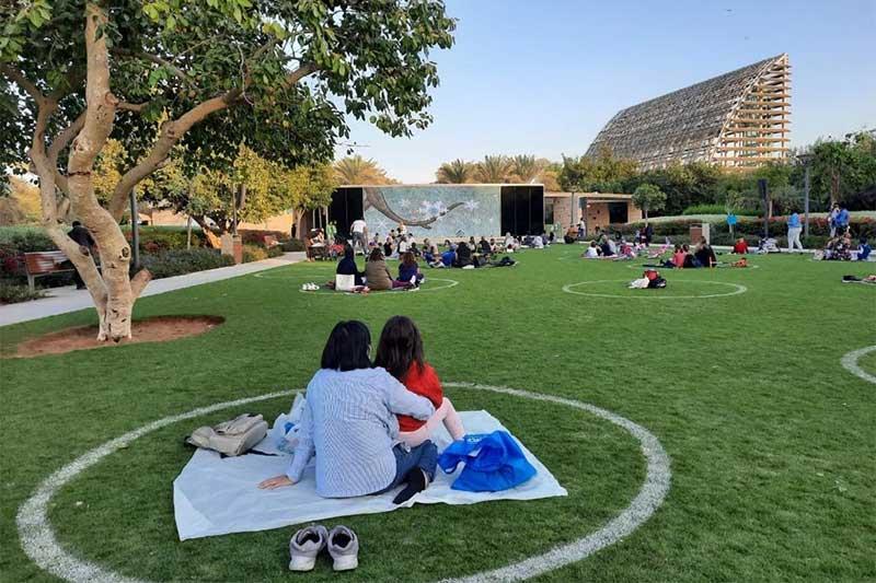 cinema in the park abu dhabi